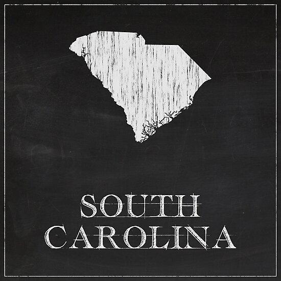 South Carolina - Chalk by FinlayMcNevin