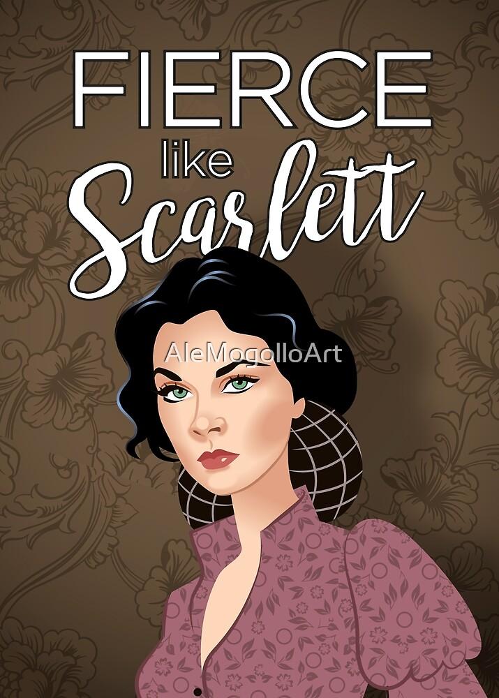 Fierce like Scarlett by Alejandro Mogollo Díez
