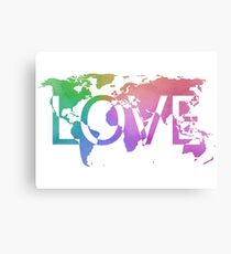 Love Earth Canvas Print