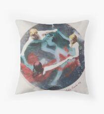 Three Femme 1993 Throw Pillow