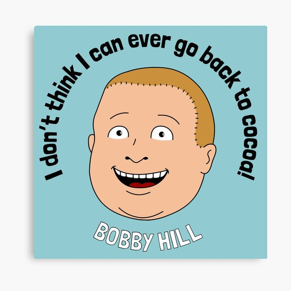 Bobby Hill Canvas Print