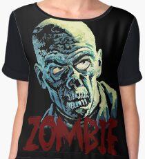 Zombie Women's Chiffon Top