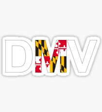 DMV- D.C., Maryland and Virginia Sticker