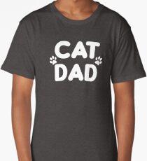 Cat Dad  Long T-Shirt