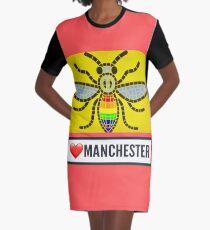 Manchester  Graphic T-Shirt Dress