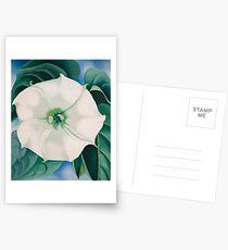 Georgia O'Keeffe White Iris Drucke Postkarten