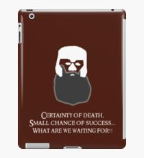 Lord of the Rings - Gimli's Small Chance of Success iPad Case/Skin
