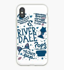 Riverdale Collage iPhone Case