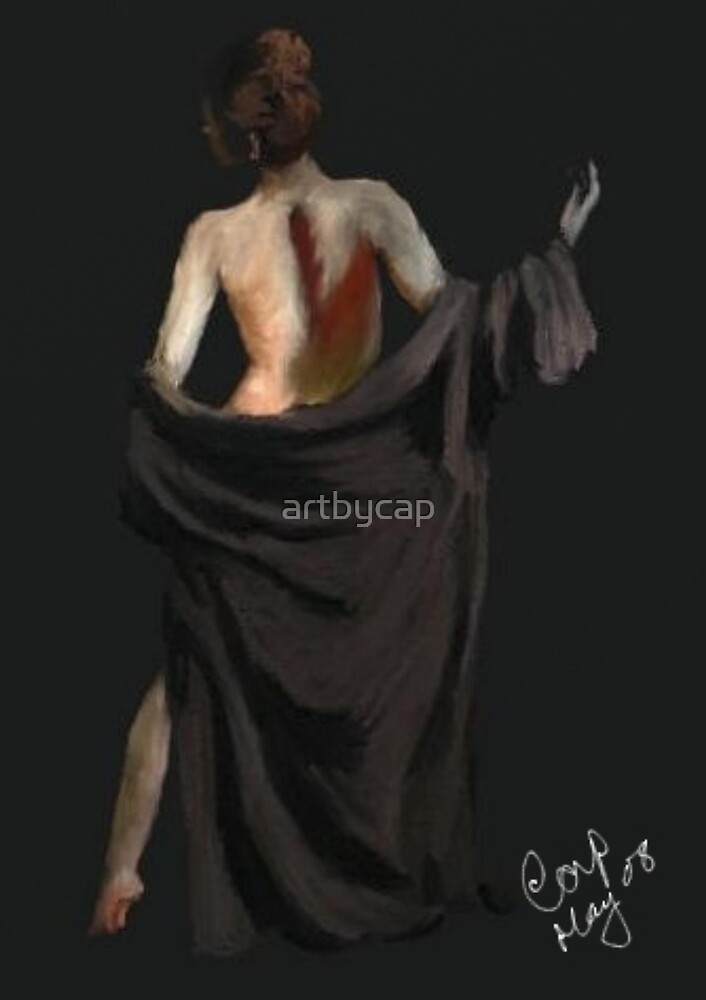 Draped Female by artbycap
