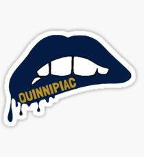 Quinnipiac Lips Sticker