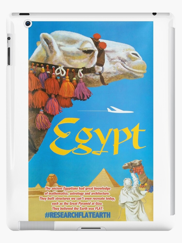 Flat earth egypt ipad cases skins by flatearth1111 redbubble flat earth egypt by flatearth1111 publicscrutiny Choice Image