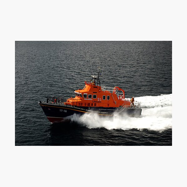 Stromness Lifeboat Photographic Print