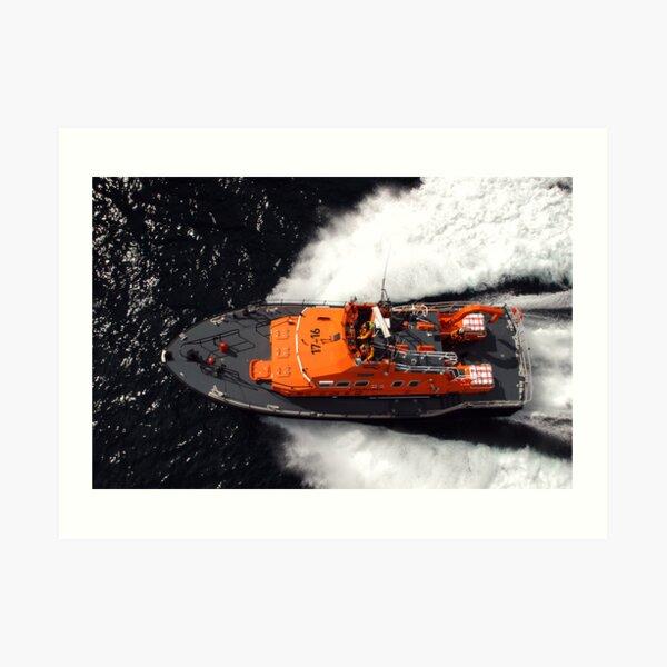 Fast top Art Print