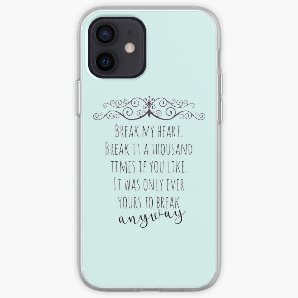 maxon schreave quote iPhone Soft Case