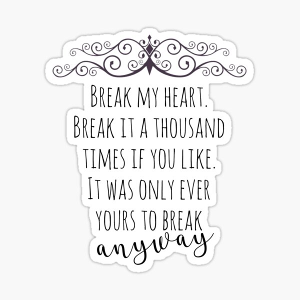 maxon schreave quote Sticker