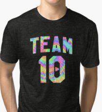 Jake Paul tie dye Team 10 Tri-blend T-Shirt