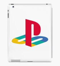 Original Playstation Logo Merchandise! iPad Case/Skin