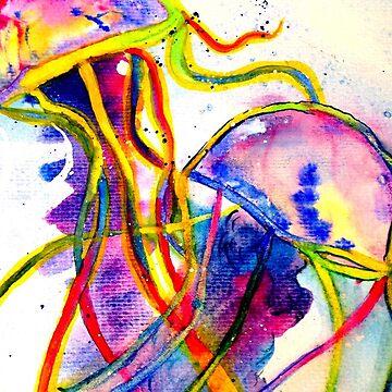 Psychedelic Jelly Fish  by rrandj