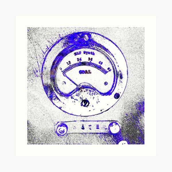 BAT Meter Art Print