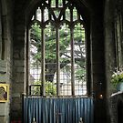 A Naturally Beautiful Church Window by lezvee