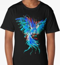 blue phoenix Long T-Shirt