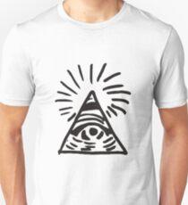 Illuminati Sign - Before the Storm - Life is Strange Slim Fit T-Shirt