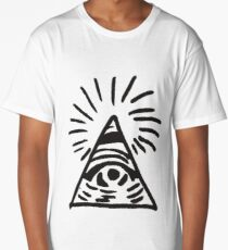 Illuminati Sign - Before the Storm - Life is Strange Long T-Shirt
