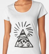 Illuminati Sign - Before the Storm - Life is Strange Women's Premium T-Shirt