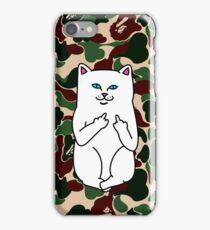 camo ripndip iPhone Case/Skin