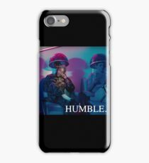 HUMBLE. Hair Salon with Moonlight Colours Distance iPhone Case/Skin