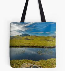 un-named tarn on Grey Knotts, looking to Brandreth and the Gables  Tote Bag