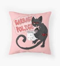 Have No Fear, the Police are Here... Naked. Throw Pillow