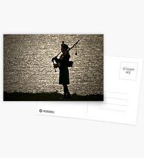 the Lone Piper Postcards