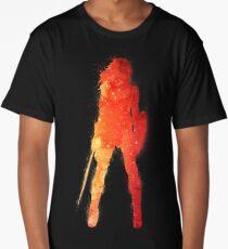 Fire Woman Long T-Shirt