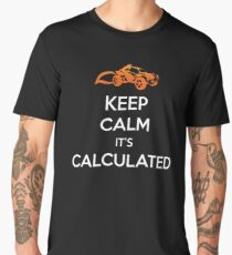 "Rocket League® - ""Keep Calm it's Calculated"" T-shirt & Memorabilia Men's Premium T-Shirt"