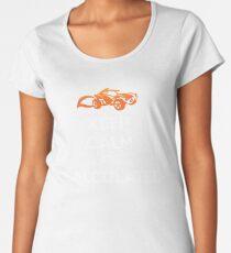 "Rocket League® - ""Keep Calm it's Calculated"" T-shirt & Memorabilia Women's Premium T-Shirt"