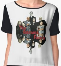 The Addams Family Chiffon Top