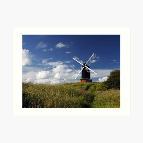 Brill Windmill Art Print