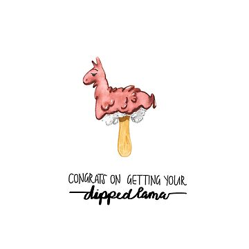Dipped Lama by msgfrommercury