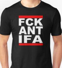 FCK ANTIFA White T-Shirt