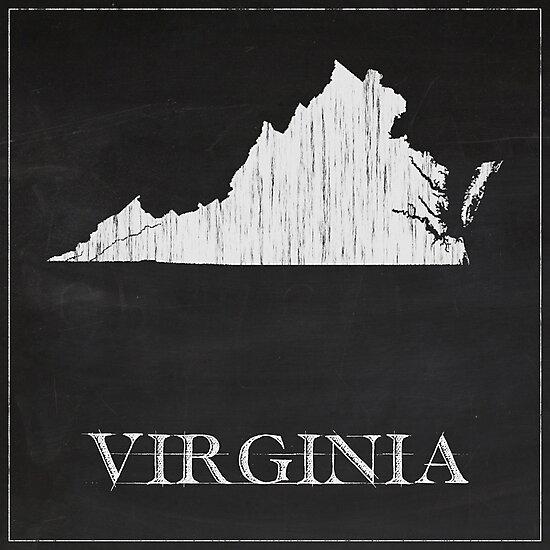 Virginia - Chalk by FinlayMcNevin