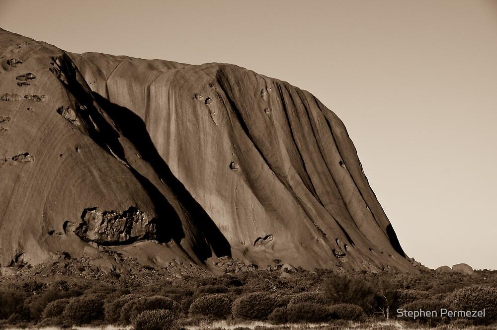 Uluru - Northern Territory by Stephen Permezel