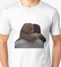 Josh and Donna Hug- The West Wing T-Shirt