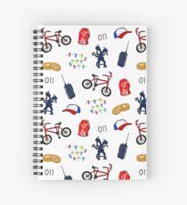 Stranger Patterns Spiral Notebook
