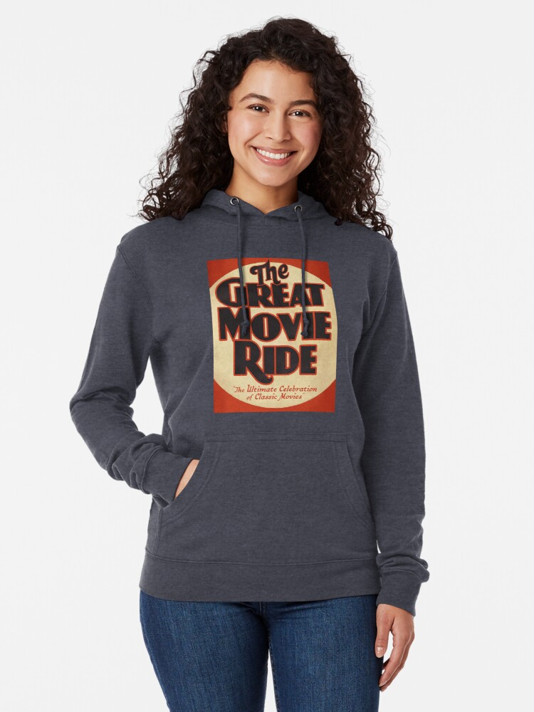 Alternate view of The Great Movie Ride Lightweight Hoodie