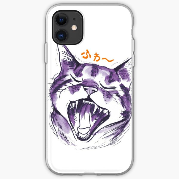 Yawn Cat iPhone Soft Case