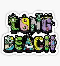 Long Beach Funky Sticker