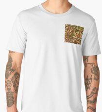 flower abstract Men's Premium T-Shirt