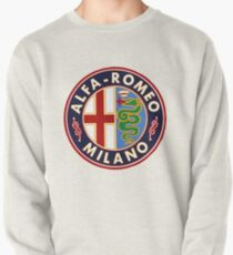 Antique Alfa-Romeo Classic Car Sign Pullover