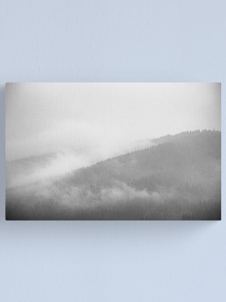 Alternate view of White Darkness Canvas Print